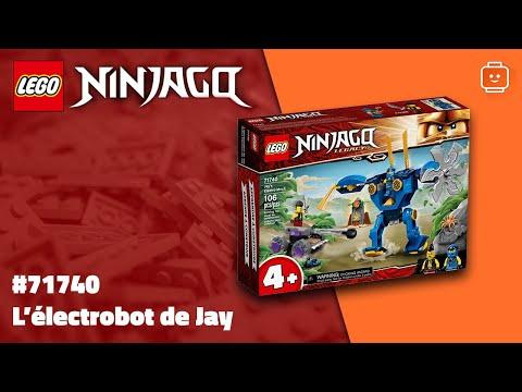 Vidéo LEGO Ninjago 71740 : L'électrorobot de Jay