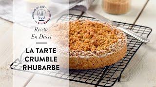 Recette en direct : la Tarte Crumble Rhubarbe