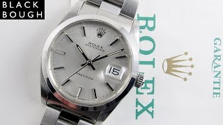 Rolex Oysterdate Precision Ref. 6694 vintage wristwatch, sold in 1991