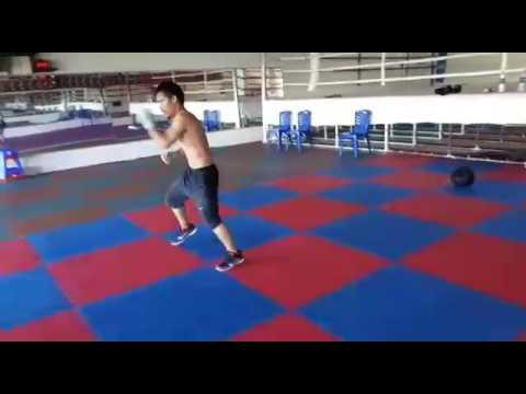 Ini Dia Video Duplikat Manny Pacquiao saat Latihan Jelang Tampil di Sabuk KSAU