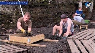 В Старой Руссе заканчивается первая смена в Школе археологов