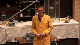 Hydrogen and oxygen in a tube