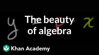The Beauty of Algebra