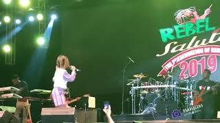 Koffee performs Toast live at Rebel Salute 2019