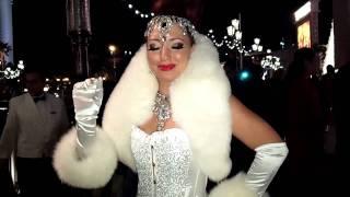 Champagne Lady Winter In Venice Venetian Vegas 11-21-11