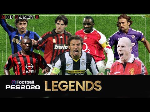 Classic patch Mod Games X PES 2020 - Legends Super PES 2020 `Update V3' Gameplay 3