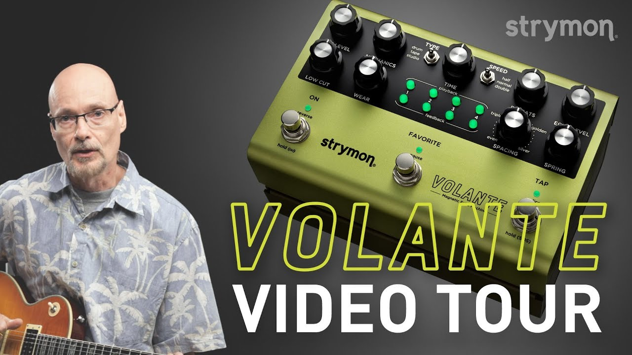 Strymon Volante Magnetic Echo Machine Video