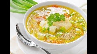 Как приготовить рыбный суп  Диетический и очень вкусный