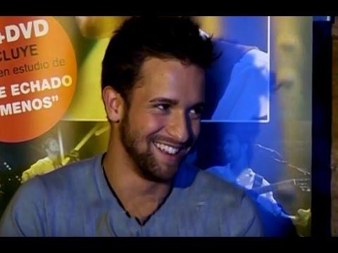 Pablo Alborán video Entrevista CM  -  21-04-2012