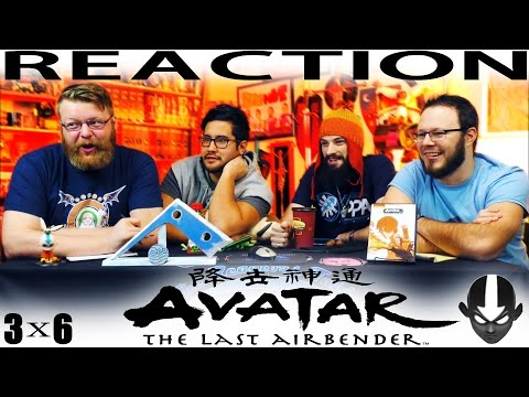 Avatar: The Last Airbender 3x6 REACTION!!