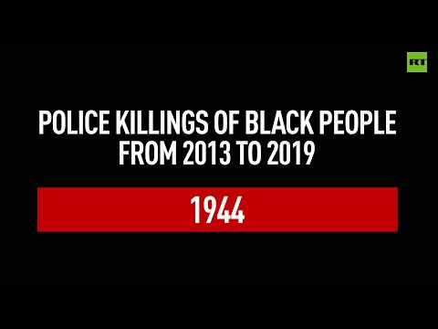 Timeline of black people killed by US police since 2013