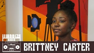 Brittney Carter On Meeting Bianca Shaw, Viral Freestyle & TDE Punch | iLLANOiZE Radio
