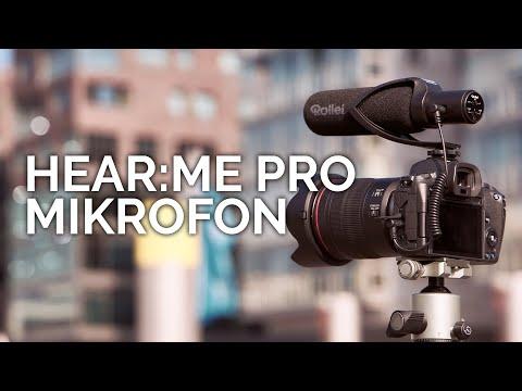 Rollei Hear:Me Pro (Vidéographie, Entretien / Conférence, Allround)