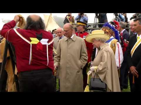 La reine Élizabeth II visite le Canada, Tournée royale 2010 – Jour 1