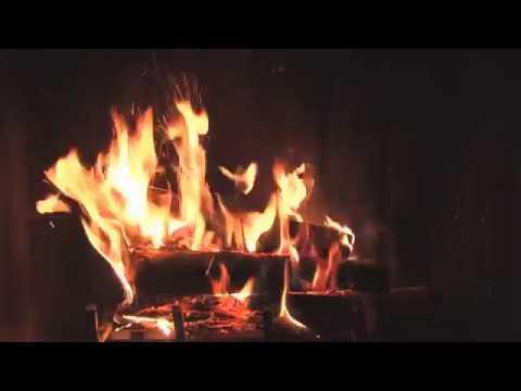 Kaminfeuer Video - Feuerstelle über 3 Stunden - Chillen Schlafen Entspannen Ruhe