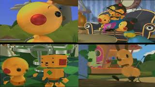 The First 4 Rolie Polie Olie Episodes Playing At Once
