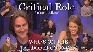 Who's on the Tal'Dorei Council? - Critical Role (C2E85)