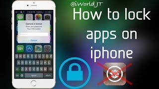 How to LOCK Apps in iPhone ??