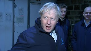 video: Boris Johnson 'hides in fridge' to avoid Good Morning Britain reporter