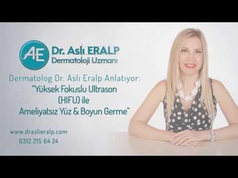 Yüksek Fokuslu Ultrason (HIFU) ile Ameliyatsız Yüz & Boyun Germe - Dermatolog Dr. Aslı Eralp