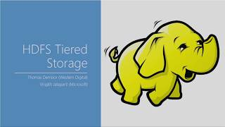 HDFS Tiered Storage  Mounting Object Stores in HDFS