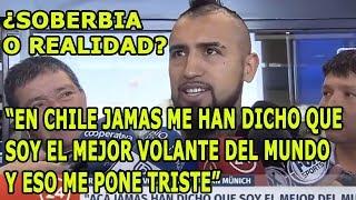 """Arturo Vidal Reclama: """" Soy El Mejor Volante Del Mundo, En Chile No Me Valoran"""""""