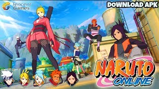 Tencent again! NARUTO ONLINE game yang Kita tunggu selama ini Gameplay part 1