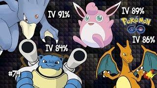 Wigglytuff  - (Pokémon) - Evolução do Charizard, Blastoise, Wigglytuff e Golduck de IVs altos! Pokemon Go CrazyC Games