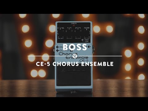 BOSS CE 5 Kytarový efekt