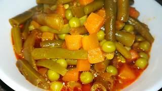 Зелёная Фасоль в Томатном Соусе. Как приготовить стручковую фасоль.