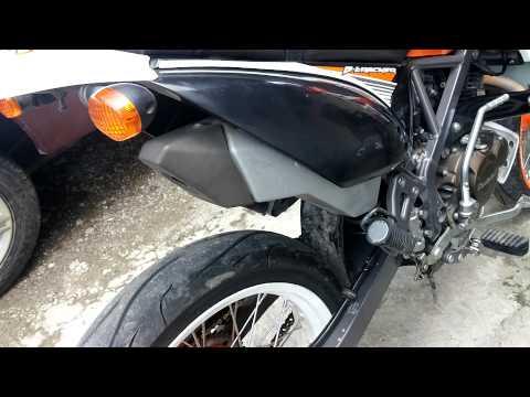 Kawasaki D-Tracker 150 Standart Exhaust