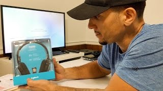Unboxing the Logitech H600 Wireless Headset