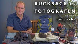 WANDER RUCKSACK für FOTOGRAFEN -  Und was ihr sonst noch braucht