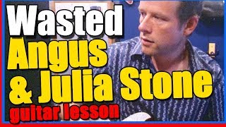 How to play Wasted on guitar - Angus and Julia Stone Guitar Lesson Tutorial
