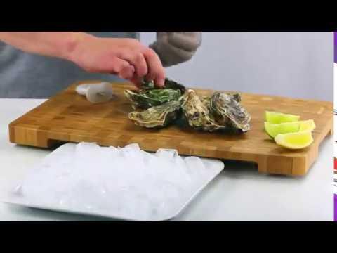 Utensílios de cozinha para marisco