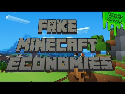 Fake Economies in Minecraft