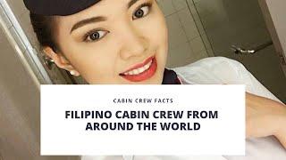 CABIN CREW FACTS | Filipino Cabin Crew From Around the World