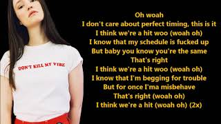 Schedules- Sigrid (Lyrics) {HeyLyrics}