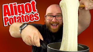 Aligot Recipe - The cheesiest potatoes you've ever seen!!