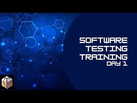 Day 1 | QA Training | Software Testing Course