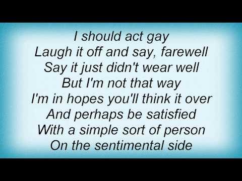 Billie Holiday - On The Sentimental Side Lyrics_1