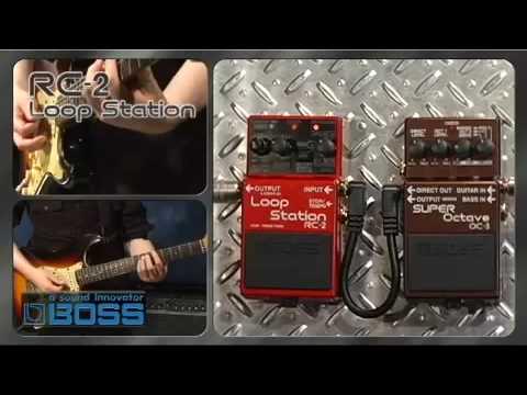 Boss rc-2 loop station review looper pedal reviews.