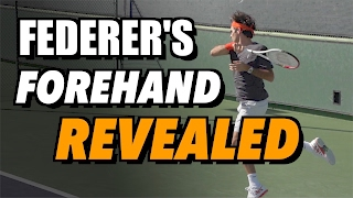 Roger Federer Forehand Secrets + Free Download!
