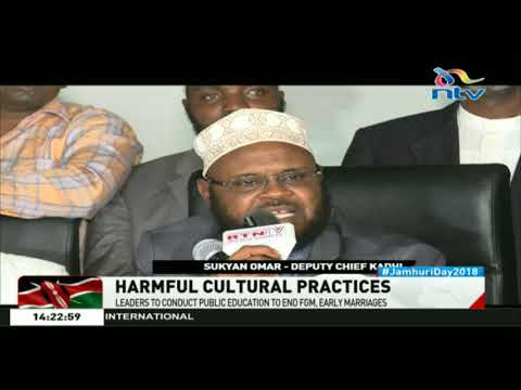 Religious leaders call for speedy action to end FGM