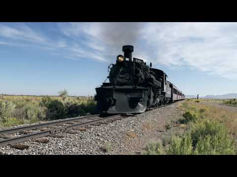 Cumbres & Toltec - #488 at County Road E5 Crossing
