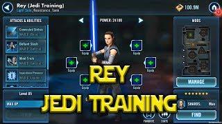 Star Wars: Galaxy Of Heroes - Jedi Training Rey - Kit Reveal