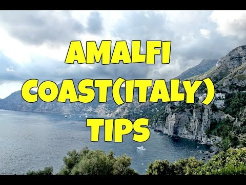 Video AMALFI COAST (ITALY) TIPS: WHERE TO STAY, WHAT CITIES TO VISIT AND WHAT TO DO