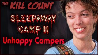 Sleepaway Camp II: Unhappy Campers (1988) KILL COUNT