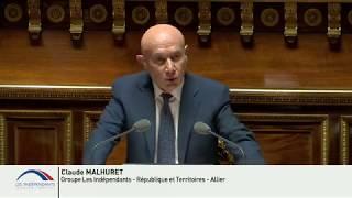 Claude MALHURET : Débat après la Déclaration du Gouvernement sur la politique migratoire