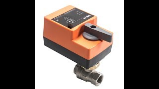 Fast Running Control Ball Valve - 2-Way AC / DC